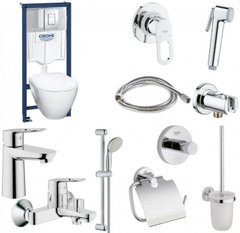 Набор GROHE Mega Bundle 39186MB0 (39186000+111042+123214S+40407001) 39186MB0