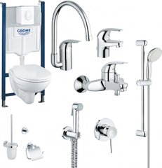 Набор GROHE Mega Bundle 39117MB0 (39117000+111048+123242K+40407001)