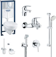 Набор GROHE Mega Bundle 39400MB0 (39400000+111048+123226S+40407001)